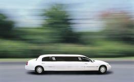 大型高级轿车速度 免版税库存照片