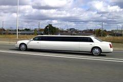 大型高级轿车superstretch 图库摄影