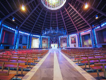 大城市大教堂在利物浦 免版税图库摄影