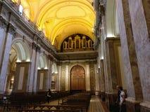 大城市大教堂布宜诺斯艾利斯 免版税库存图片