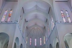 大城市大教堂福特莱萨巴西 免版税库存图片