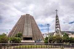大城市大教堂里约热内卢(圣塞瓦斯蒂安) 免版税库存图片