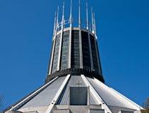 大城市大教堂,利物浦,英国 库存照片