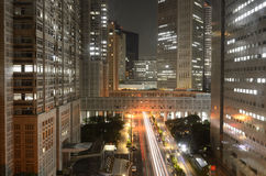 大城市政府Bulidings在东京 免版税库存图片
