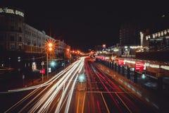 大城市生活,米斯克,白俄罗斯 免版税图库摄影