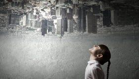 大城市生活 免版税库存图片