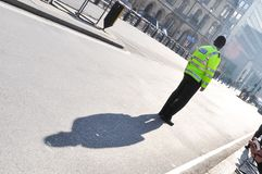大城市警察在伦敦,英国,英国 库存图片
