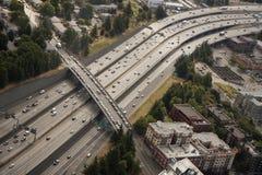 大城市高速公路 库存图片