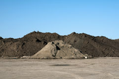 大堆土壤 图库摄影
