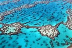 大堡礁颜色 免版税库存图片