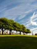 大墓地向自由未知的海洋  免版税图库摄影