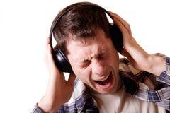 大声的声音 免版税库存图片