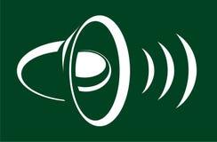 大声的声音 图库摄影