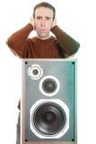 大声的音乐 库存图片