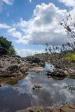 大夏威夷海岛 库存图片