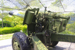 大大炮背面图 库存图片
