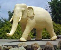 大大象雕象 免版税库存照片