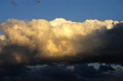 110大天空在亚伯大加拿大 库存照片