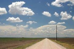 大天空得克萨斯 免版税库存照片