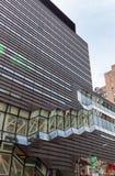 大学中心在新的学校 免版税图库摄影