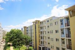 大学公寓 免版税库存照片