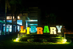 大学图书馆  库存照片