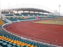 大学城在xili深圳的运动场 库存图片
