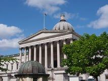 大学学院,伦敦 免版税库存图片