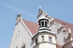 大学屋顶 库存照片