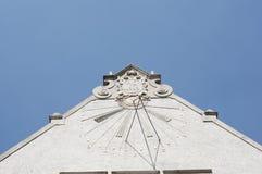 大学屋顶 免版税库存图片