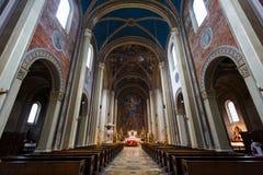 大学教会圣路易在慕尼黑 库存图片