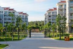 大学旅馆和宿舍 免版税库存图片