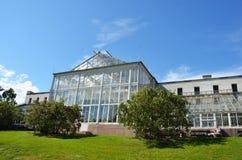 大学植物园的温室O的 免版税库存照片