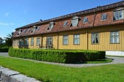 大学植物园的Toyen庄园在奥斯陆 库存图片