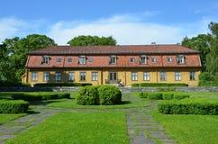 大学植物园的Toyen庄园在奥斯陆 图库摄影