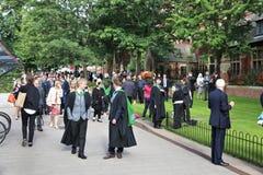 大学毕业典礼举行日 库存图片