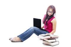 大学生学习 免版税图库摄影