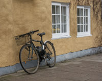 大学自行车建立英国的牛津大学 库存照片