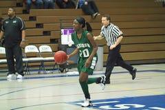 大学运动代表队高中篮球 免版税库存图片