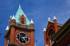 大学霍尔在蒙大拿自1898以来 库存照片