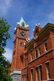 大学霍尔在蒙大拿自1898以来 免版税库存图片