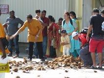 大宝森节槟榔岛马来西亚 免版税库存图片