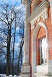大宫殿的看法在Tsaritsyno公园在莫斯科 免版税库存图片