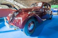 大家庭汽车标致汽车402 Legere E, 1939年 免版税库存图片