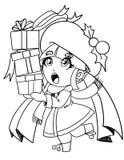 大家的圣诞节 库存例证