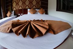 大小的河床旅馆国王豪华空间 库存照片