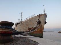 大小船Galeb 库存照片