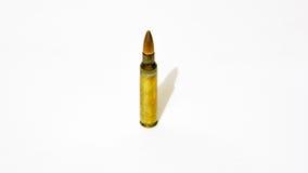大小5 56 mm步枪子弹 库存照片
