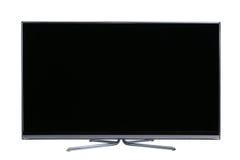 大屏幕平面的lcd电视 免版税库存照片