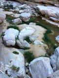 大岩石和石头 免版税库存图片